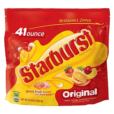 STARBURST Original Fruit Chews, 41 oz Resealable Bag (MMM22649)