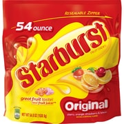 STARBURST Original Fruit Chews Candy, 54 oz  (209-00102)