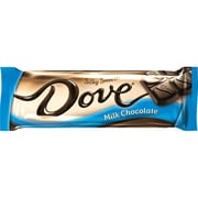 DOVE Milk Chocolate Singles Size Candy Bar 1.44 oz Bar, Pack of 18 (209-00468)