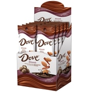 DOVE Almonds With Cinnamon and Dark Chocolate Candy 1.6 oz Pouch, 10 Count (225-00045)