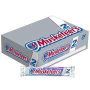 3 MUSKETEERS Chocolate Sharing Size Candy Bars 3.28 oz Bar, Pack of 24 (MMM24603)