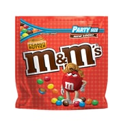 M&M'S Peanut Butter Chocolate Candy, 38 oz Party Size Resealable Bag (MMM38887)