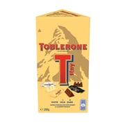 Toblerone mini, barres variées, 200 g