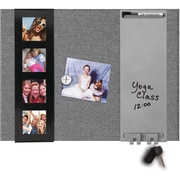 "Quartet® Envision Combination Board with Photo Frame, 17"" x 23"" (6447415567)"