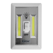 iGlow 2 Pack Switch Night Light With COB Technology