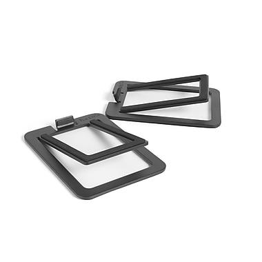 Kanto – Supports de haut-parleurs de table S2 pour haut-parleurs de petite taille, noir
