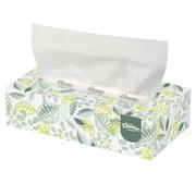 Kleenex® Naturals Flat Box Facial Tissues, 2-Ply, White, 48/Ct
