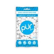 PUR Gum – Sachet de gomme à mâcher sans sucre, menthe poivrée, 77 g