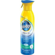 Pledge Multi Surface Everyday Cleaner, Ready-To-Use Aerosol, 9.70 fl oz, Rainshower Scent, 1 Each, Clear
