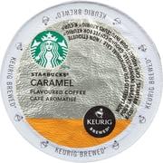 Starbucks Coffee K-Cup, Caramel, Medium, 24 Each