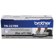 Brother TN-227BK Black Toner Cartridge, High Yield