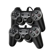 Marvo GT-007 USB Wired Gamepad Controller Joystick for PC, 2/Pack