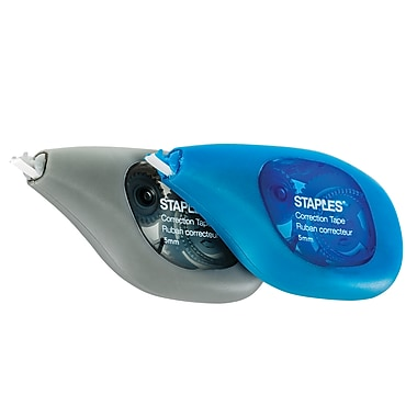 Staples® OOPS! Grip Correction Tape, 2/Pack