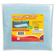 Educational Insights® Classroom Light Filters, Tranquil Blue, 4/Pack
