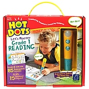 Hot Dots Let's Master Grade 1 Reading Ages 6+, 3 Pieces Per Set (2392)