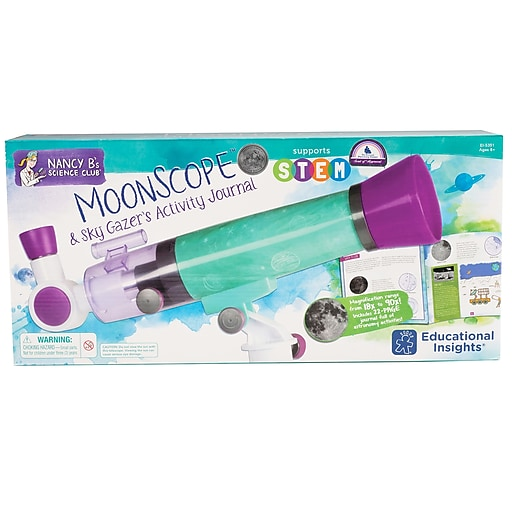 Educational Insights® Nancy B's Science Club Moonscope And Star Gazer's Activity Journal
