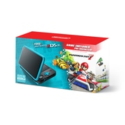 2DS-XL Hardware Black & Turquoise With Mario Kart 7, 2DS-XL