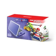 2DS-XL Hardware Purple & Silver With Mario Kart 7, 2DS-XL