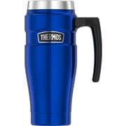 Thermos Stainless Steel Travel Mug, 16 oz., Royal Blue (SK1000BLTRI4)