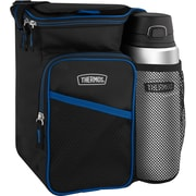 Thermos – Ensemble sac à lunch et bouteille Direct Drink, noir/bleu