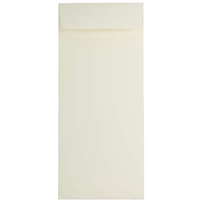 JAM Paper® #14 Policy Envelopes, 5 x 11.5, Strathmore Natural White Wove, 25/pack (191255)
