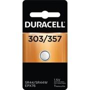 Duracell 303/357 1.5V Silver Oxide Battery, 1/Pack