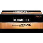Duracell® Coppertop® AA Alkaline Batteries, 144/Carton