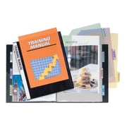 ITOYA Profolio Presentation Book with Clear Cover, 24 Page with Index Tab, Letter Size