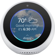 Amazon Echo Spot, White, English (53-007087)