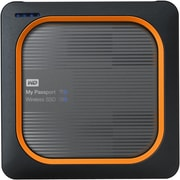 WD My Passport Wireless 250GB USB 3.0 External Network Solid State Drive (WDBAMJ2500AGY-NESN)