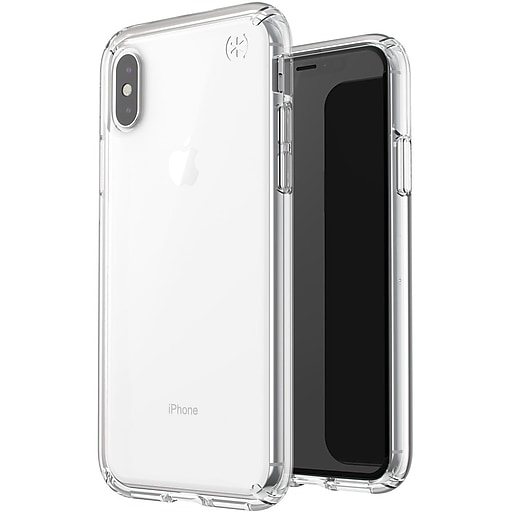 buy popular 52d21 d4f61 Speck Presidio Stay Clear Cover for iPhone X (119394-5085)