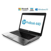 HP Refurbished PROBOOK 440 14-inch Notebook, 1.6 GHz Intel Core i5 5200U, 500 GB HDD, 8 GB DDR3, Windows 10 Professional