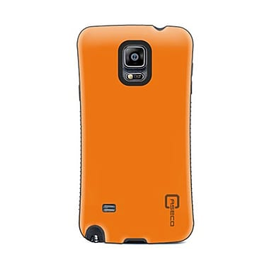 Caseco Dual Layer Hybrid Military Graded Shock Express Case with Studded Grip for Galaxy Note 4, Orange