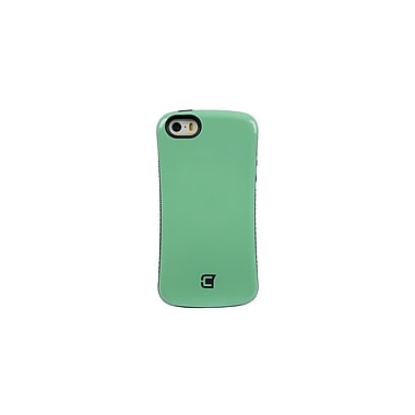 Caseco Dual Layer Hybrid Military Graded Shock Express Case with Studded Grip for iPhone 5C, Green