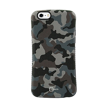 Caseco Dual Layer Hybrid Military Graded Shock Express Case with Studded Grip for iPhone 6/6S, Delta
