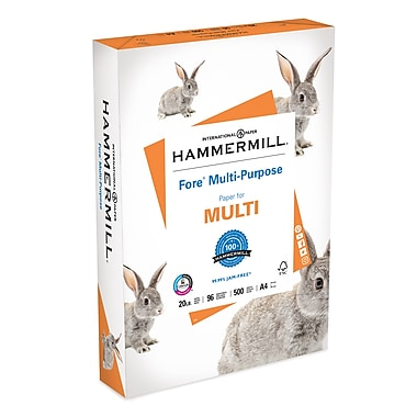Hammermill Multipurpose Paper, 20lb, A4 Size, Ream