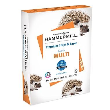 Hammermill Papier laser et jet d'encre de qualité supérieure certifié FSC, 24 lb, brillance 97, 8,5 po x 11 po, rame