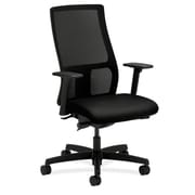 HON Ignition Mesh Back Fabric Computer and Desk Chair, Black (HONIW103CU10)