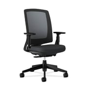 HON Lota Mesh Back Polyester Computer and Desk Chair, Black (H2281.VA10.T)