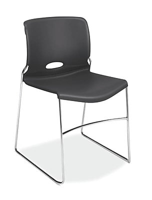 HON Olson High-Density Stacking Chair, Lava Shell (HON4041LA) NEXT2018 NEXT2Day