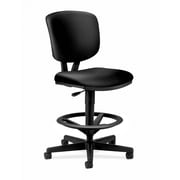 HON Volt Task Stool, Extended Height, Footring, Black SofThread Leather (HON5705SB11T) NEXT2018 NEXT2Day