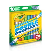 Crayola Double Doodler Markers, 10/Pack