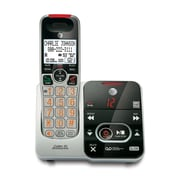 AT&T CRL32102 DECT 6.0 Expandable Cordless Phone with Digital Answering System & Caller ID/Call Waiting, Silver/Black