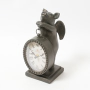 Flying Pig Table Clock (9044-CM1255-CK)