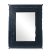 Faye Rectangle Wall Mirror, Blue (1134-CM1305-MR)