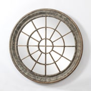 Grady Round Metal Wall Mirror (7168-CM2114-MR)