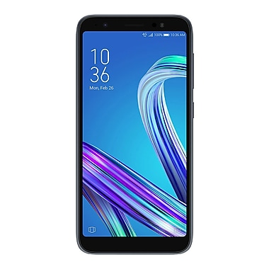 66f9e6e4af11 Asus Zenfone Live L1 5.5-inch, 1.4 GHz Qualcomm Snapdragon 425, 16 GB,  Android Oreo, Midnight Black | Staples
