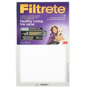 "Filtrete Healthy Living Ultra Allergen Filter, MPR 1500, 16"" x 25"" x 1"""
