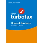 Logiciel TurboTax Home and Business 2018, Windows, anglais, [téléchargement]