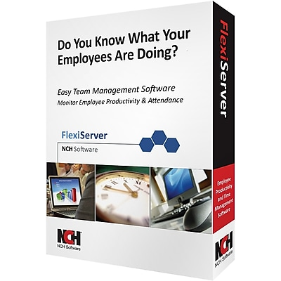 NCH Software Flexi-Server Employee Management for Windows (1-User) [Download]